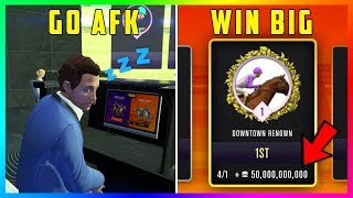 A SECRET Change Was Made To Inside Track Horse Racing At The Diamond Casino In GTA 5 Online! (AFK)