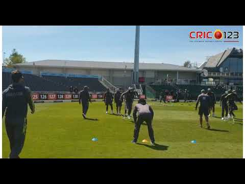 Pakistan Cricket Team Practice At Bristol Ahead Of 3rd ODI Against England