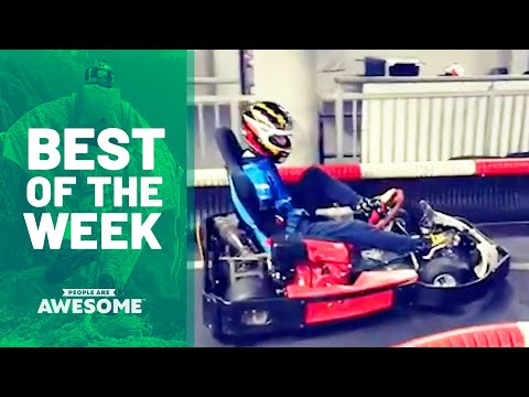 Is He Driving a Go Kart With His Feet?! | Best of the Week - UCIJ0lLcABPdYGp7pRMGccAQ