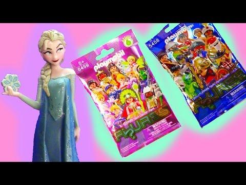 Frozen Queen Elsa Playmobil Blind Bag Opening Series 6 Mystery Surprise Packs Girls Boys Toy Review - UCelMeixAOTs2OQAAi9wU8-g