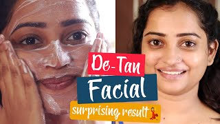 10 Session De-tan Facial Kit at Rs.399/-Only - Surprising DE-Tan Facial Result   Facial at Home