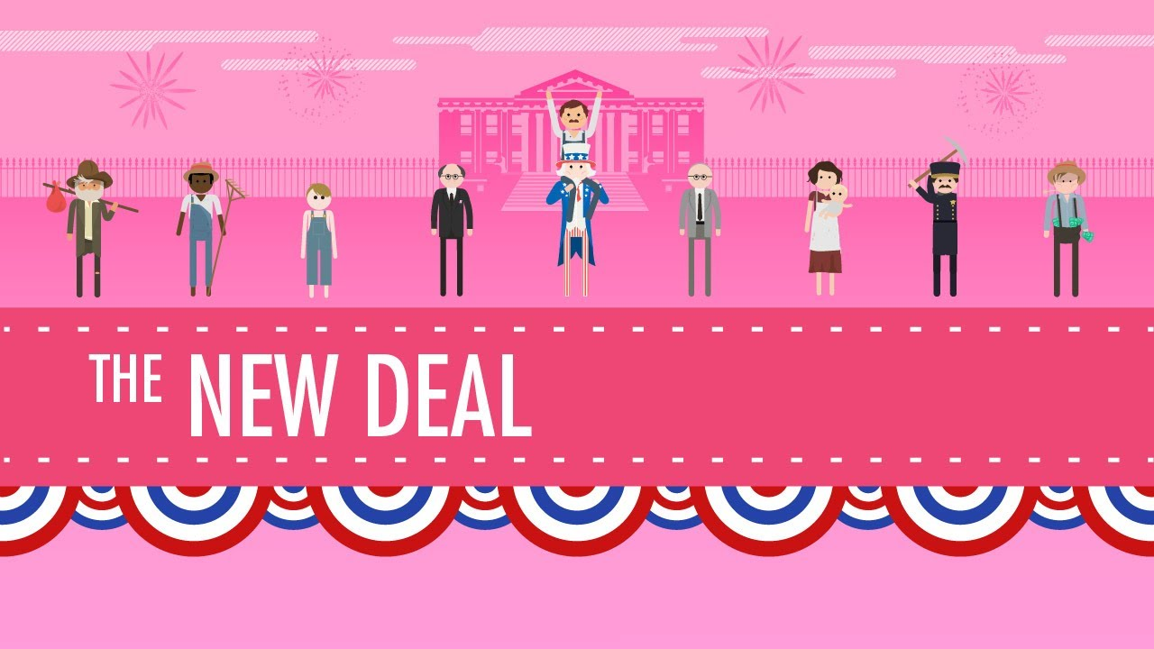 The New Deal: Crash Course US History #34