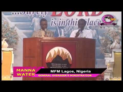 FRENCH MFM SPECIAL MANNA WATER SERVICE WEDNESDAY MARCH 25TH 2020