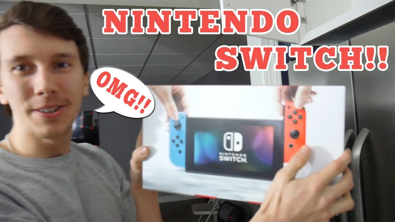SURPRISING OUR FRIEND WITH A NINTENDO SWITCH?! (UNBOXING & GAMEPLAY)