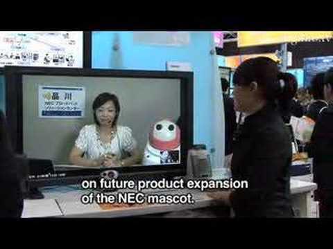 """NEC's """"Ubiquitous Desk Service"""" Web Meeting System - UCOHoBDJhP2cpYAI8YKroFbA"""