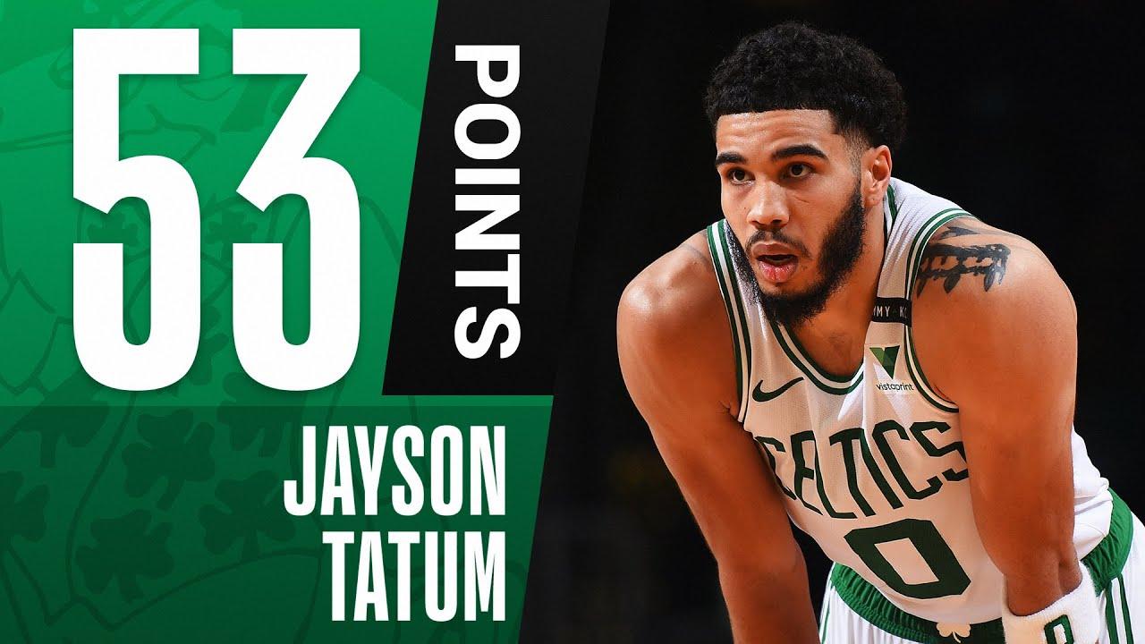 Jayson Tatum Drops CAREER-HIGH 53 PTS! 🔥