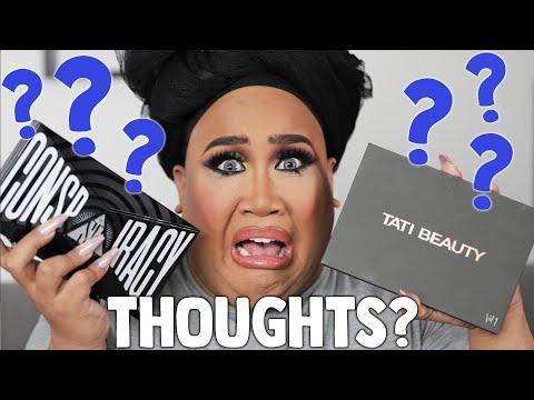 Shane Dawson Conspiracy Palette vs Tati Beauty Palette Review   PatrickStarrr