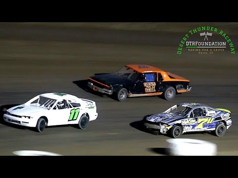 Desert Thunder Raceway Sport Mini Bomber Main Event 8/27/21 - dirt track racing video image