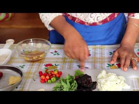 Tamarind Sauce - sauce tamarin pour riz gras