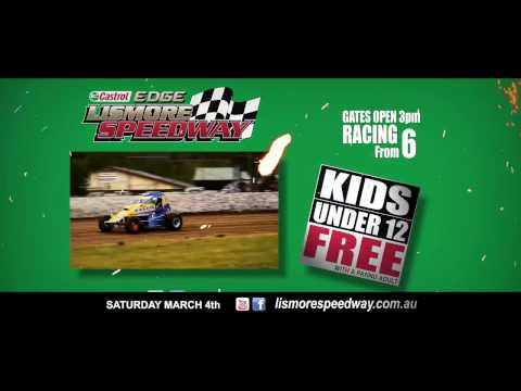 NSW Wingless Title 2017 @ Lismore Speedway - dirt track racing video image