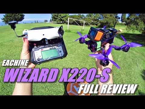 Eachine WIZARD X220S FPV - Full Review - [Unboxing / Inspection / Flight-CRASH! Test / Pros & Cons] - UCVQWy-DTLpRqnuA17WZkjRQ