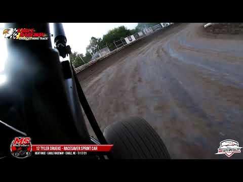 12 Tyler Drueke   Eagle Raceway   7-17-21 - dirt track racing video image