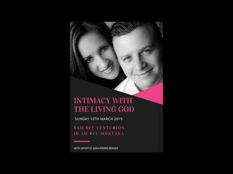 INTIMACY WITH THE LIVING GOD