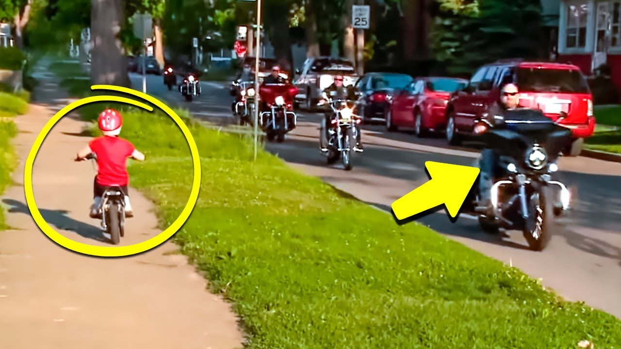 7-Year-Old Girl Was Just Riding a Bike, Then 'The Punishers' Pulled Up