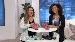 Ryka Adjustable Mesh Mary Jane Sneakers - Kailee on QVC