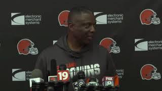 DB Coach DeWayne Walker Gives His Analysis on Greedy Williams - MS&LL 8/13/19