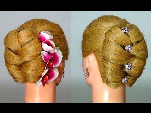 Прическа для длинных волос на Новый год!  Hairstyle for New Year - UCBDR4TSiuXpWFNSA4cxPp6g