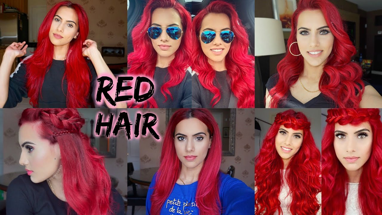 How To Dye Dark Hair Bright Red Without Bleach Audiomania