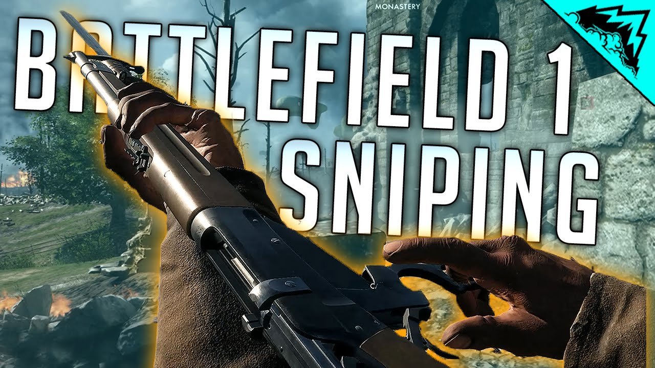 Battlefield 1 Sniping Gameplay - IRONSIGHT SNIPING IS THE