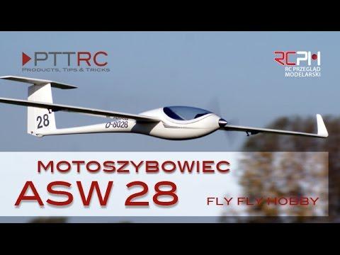 MOTOSZYBOWIEC ASW 28 FIRMY FLYFLYHOBBY - UCRs3F8PRwRzivIHwFWsV1dA