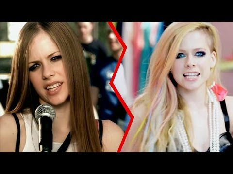 The Evolution of Avril Lavigne - UCpDJl2EmP7Oh90Vylx0dZtA