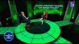 Aída Martínez: ¿Tuviste relaciones sexuales con George Forsyth? - EVDLV