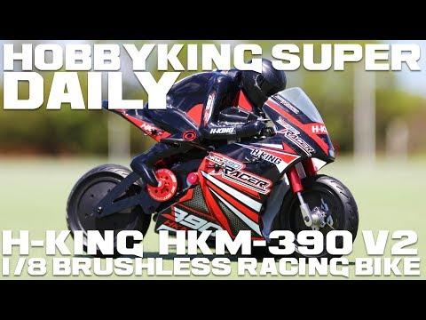 H-King HKM-390 V2 Brushless 1/8 Racing Bike - HobbyKing Super Daily - UCkNMDHVq-_6aJEh2uRBbRmw