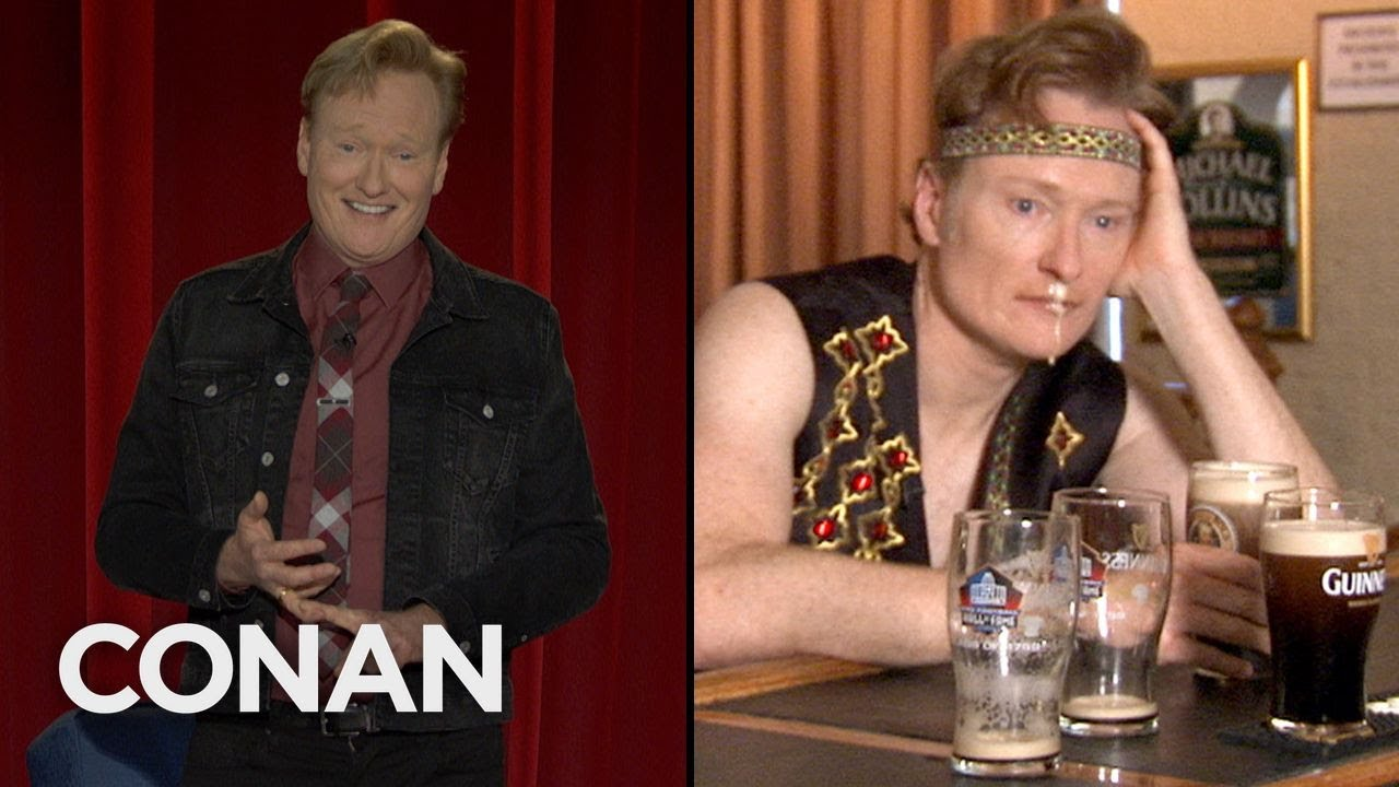 Conan Revisits His Trip To The Irish American Heritage Center – CONAN on TBS