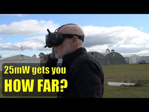 Quick 25mW range test (DJI HD FPV first flight and thoughts) - UCahqHsTaADV8MMmj2D5i1Vw