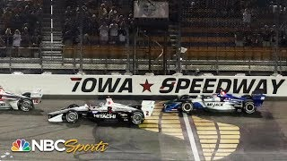 IndyCar Iowa 300 | EXTENDED HIGHLIGHTS | 7/20/19 | NBC Sports