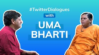 #TwitterDialogues with Uma Bharti