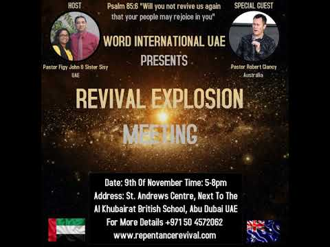REVIVAL IN UNITED ARAB EMIRATES 9TH OF NOVEMBER