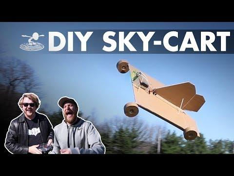DIY SKY-CART - Maiden...flight? - UC9zTuyWffK9ckEz1216noAw