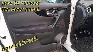 Come smontare pannello portiera Nissan Qashqai J11