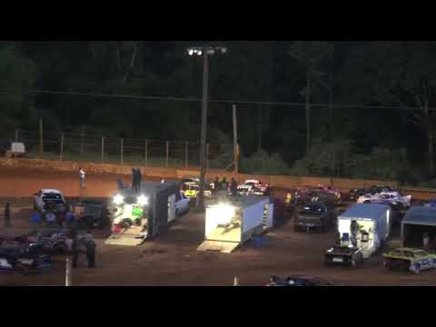 Stock V8 at Winder Barrow Speedway May 15th 2021 - dirt track racing video image