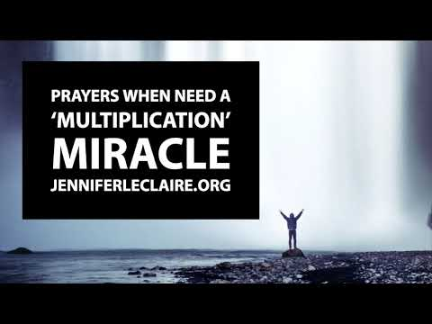 Prayers When You Need a Multiplication Miracle