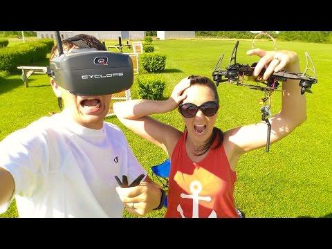 HobbyKing Black Widow First FPV Flight w/ Quanum Cyclops - 260 FPV Racer Drone RTF - TheRcSaylors - UCYWhRC3xtD_acDIZdr53huA