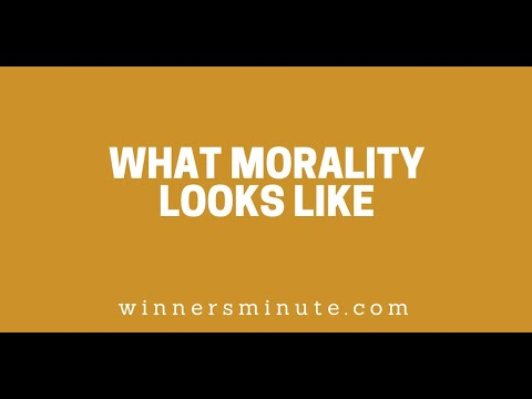 What Morality Looks Like // The Winner's Minute With Mac Hammond
