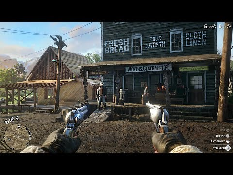 Red Dead Redemption 2 Free Roam Gameplay LIVE! Robbing Stores, Bounties, Hunting, Fishing! - UC2wKfjlioOCLP4xQMOWNcgg