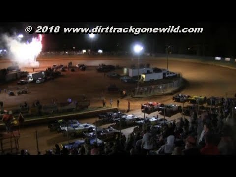 SNSLM @ Toccoa March 17th 2018 - dirt track racing video image
