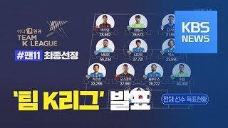 '호날두 한판 붙자~' 팀 K리그 이동국·조현우 총출동 / KBS뉴스(News)