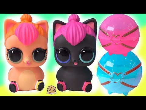 Mommy Cats ! LOL Surprise Biggie Pets Neon + Spicy Kitten with Mystery Blind Bags - UCelMeixAOTs2OQAAi9wU8-g