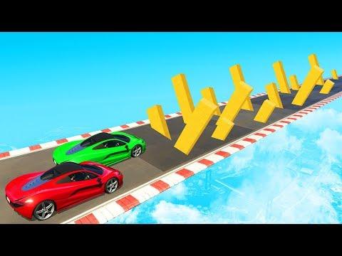 SURVIVE THE INTENSE OBSTACLE CHALLENGE! - GTA 5 Funny Moments - UCHdMK5Ef2El8KbD3L_WgANg