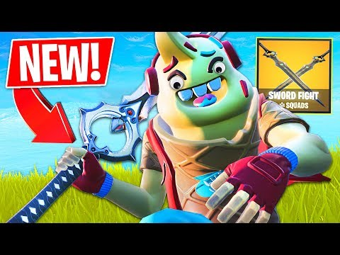*NEW* Fortnite *SWORD FIGHT* Game Mode!! (Fortnite Battle Royale Gameplay) - UC2wKfjlioOCLP4xQMOWNcgg