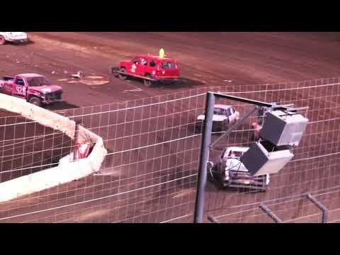Perris Auto Speedway Demo Cross Main Event 8-28-21 - dirt track racing video image