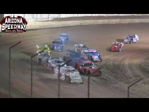 Az Speedway  IMCA SportMod Main   June 12 2021 - dirt track racing video image