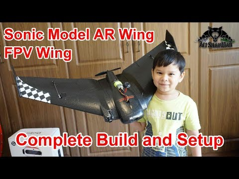 How to Assemble and Setup SonicModell AR Wing FPV Flying Wing - UCsFctXdFnbeoKpLefdEloEQ