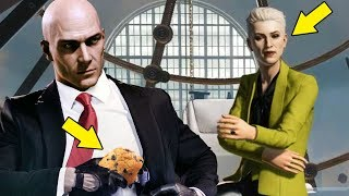 How I Robbed A Bank With Only A Muffin & A Hamburger In Hitman 2 - Bank Heist