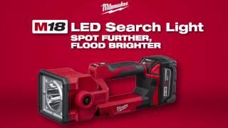 LED-akulamp Milwaukee M18 SLED-0 - ilma aku ja laadijata