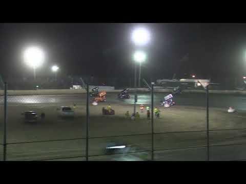 Giovanni Scelzi 9-23-18 Main Event IRA Sprints LaSalle - dirt track racing video image